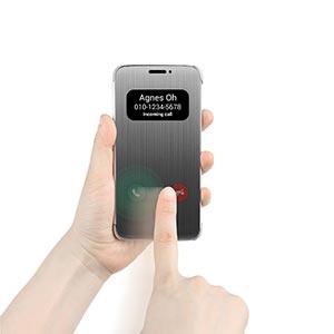 LG Quic Cover Case