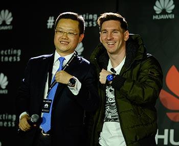 Huawei Messi Globaltechmagazine