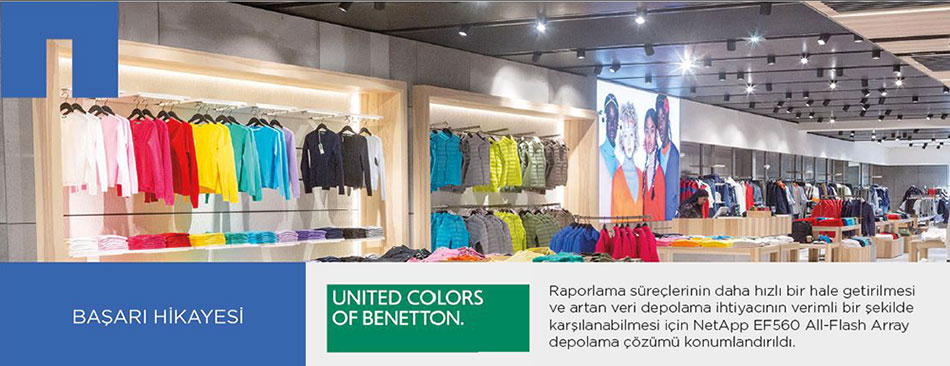 Benetton-NetApp-Basari-Hikayesi